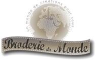 Broderie du Monde, kits broderie,  point de croix, point compté, canevas