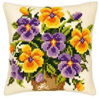 Coussins Fleurs et Plantes