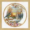 RIOLIS  1692  Assiette avec Mésange