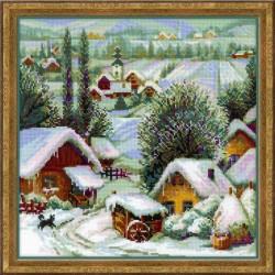 RIOLIS  1670  Village serbe