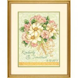 Dimensions | kit  Bouquet registre de mariage  Dimensions  70-35275 | Broderie du monde