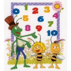 Maya  l'abeille  et  Willy  comptent  0149775  Vervaco