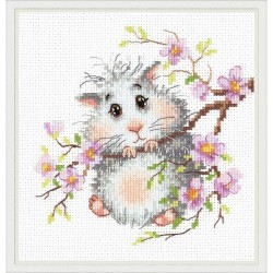 Chudo Igla  Magic Needle  18-92  Mr.Hamster  Broderie  Point compté