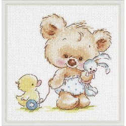 Chudo Igla  Magic Needle  17-15  Mes jouets  Kit  Broderie  Point de coix compté