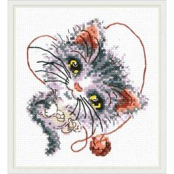 Chudo Igla  Magic Needle  26-24  La mignonne  Broderie  Point de coix compté