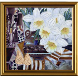 Nova Sloboda  kit Inspiration Narcissus  Nova Sloboda  HK 3132 | Broderie du monde