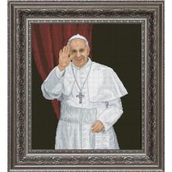 Krasa i Tvorchist | kit  Papa François |  Krasa i Tvorchist  10413 | Broderie du monde