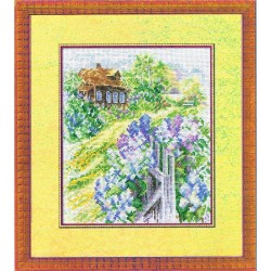 RTO  M069  Cottage  Broderie  Point de croix compté