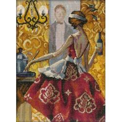 RTO  M241  Femmes glamour dans Lieux fabuleux  Broderie  Point de croix compté