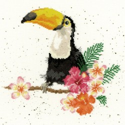 Bothy Threads  XHD21  Toucan  Broderie  Point de croix compté