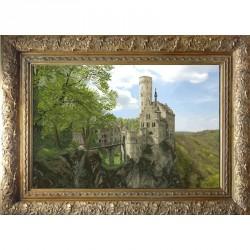 Krasa i Tvorchist | kit  Château de Liechtenstein  Krasa i Tvorchist  21012 | Broderie du monde