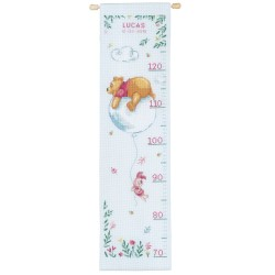 VERVACO  0172750  Disney  Toise  Winnie sentimental  Broderie  Point de croix compté