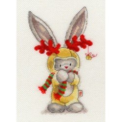 Bothy Threads   XBB7  Bebunni  Rudolf  Broderie  Point de croix compté