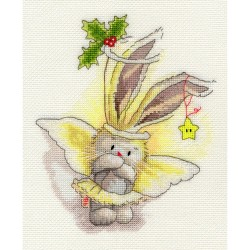 Bothy Threads XBB4  Bebunni  Angel  Broderie  Point de croix compté
