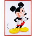 Broderie Diamant  VERVACO  0173564  Mickey Mouse