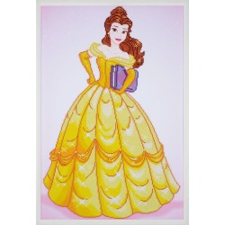 Broderie Diamant  VERVACO  0173559  Belle  Disney