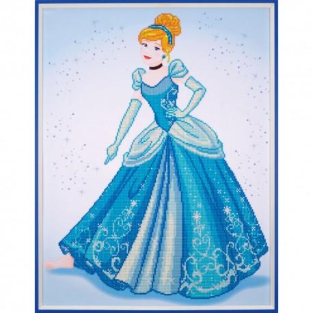 Broderie Diamant  VERVACO  0173560  Cendrillon  Disney