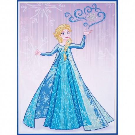 Broderie Diamant  VERVACO  0173562  Elsa  Disney