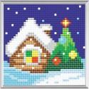 Broderie Diamant  RIOLIS  AM0004  Réveillon de Noël