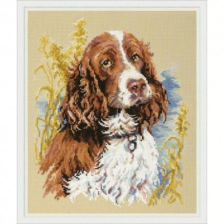 Mon chien 59-14  Magic Needle  Broderie  Point de croix compté  Chudo Igla