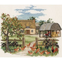 Bothy Threads   CON07  Appletree farm  Broderie  Point de croix compté