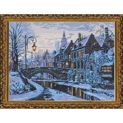 Nova Sloboda  kit Winter Evening  Nova Sloboda  PE 3327 | Broderie du monde
