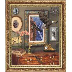 Krasa i Tvorchist | kit  Vol de l'aigle | Krasa i Tvorchist  20111 | Broderie du monde