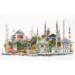 Istanbul  479  Thea Gouverneur  Broderie  Point de croix compté  Lin 14 fils