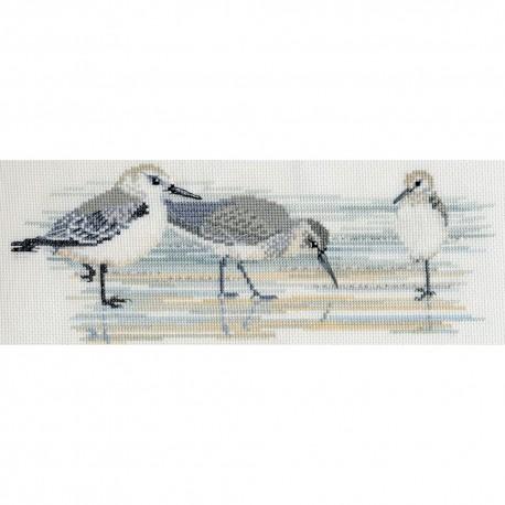 Birds BB03  Bothy Threads  Broderie  Point de croix compté
