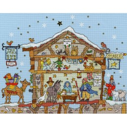 Bothy Threads  XCT27  Nativity  Broderie  Point de croix compté