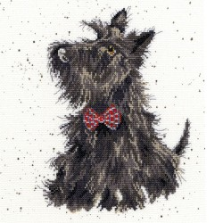 Bothy Threads XHD13  Terrier écossais  Broderie  Point de croix compté