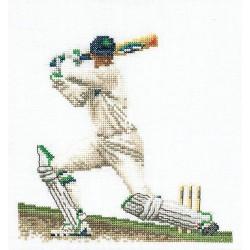 Cricket  3033 Thea Gouverneur  Broderie  Point de croix compté  sur  Lin 12 fils