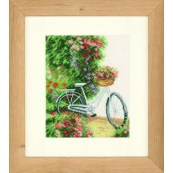 Ma bicyclette  0147006 Lanarte  Broderie  Point de croix compté  Étamine