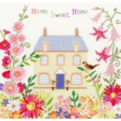Bothy Threads XSS5  Home Sweet Home  Broderie  Point de croix compté