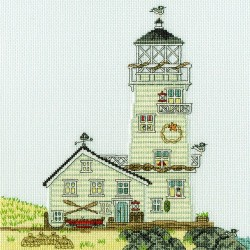 Bothy Threads XSS6  Le phare  Nouvelle-Angleterre  Broderie  Point de croix compté