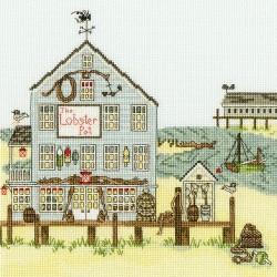 Bothy Threads XSS8  Le homard  Nouvelle-Angleterre  Broderie  Point de croix compté