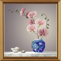 Nova Sloboda  kit Pink Orchid  Nova Sloboda  HC 3122 | Broderie du monde