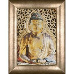 Thea Gouverneur 532A  Buddha  Broderie  Point de croix compté