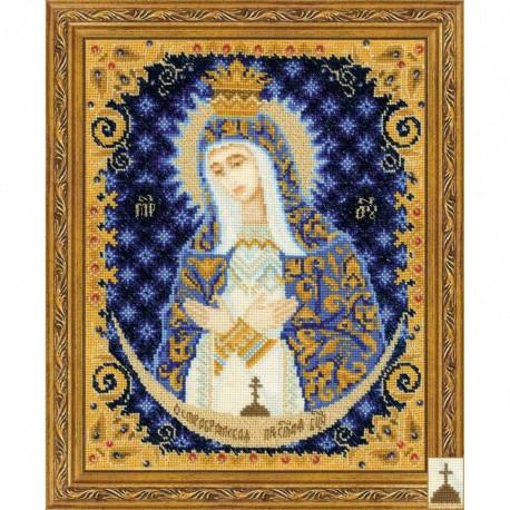 RIOLIS 1299  Notre-Dame de la porte de l'aube  Broderie  Point de croix compté