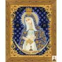 Kit point de croix  Icône  Notre-Dame de la porte de l'aube 1299  Riolis