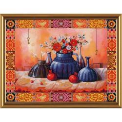 Nova Sloboda  kit Still life with Pomegranates  Nova Sloboda  HHD 3008 | Broderie du monde