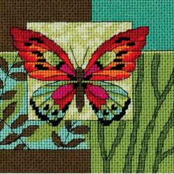 Impression   de papillons  7222  Dimensions