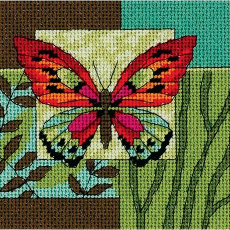 Dimensions | kit  Impression de papillons  Dimensions  7222 | Broderie du monde