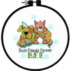 Dimensions  Meilleurs  amis  pour  toujours  72-73546