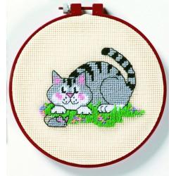 Dimensions  Un  chat  et  une  souris  72318