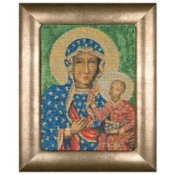 Thea Gouverneur 469A  Madonna de Czestochowa  Broderie  Point compté  Aida