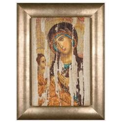 Thea Gouverneur 475A  Icône  Mère de Dieu  Broderie  Point de croix compté  Aida
