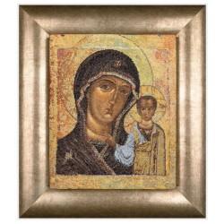Thea Gouverneur 477A  Icône  Vierge de Kazan  Broderie  Point de croix compté  Aida