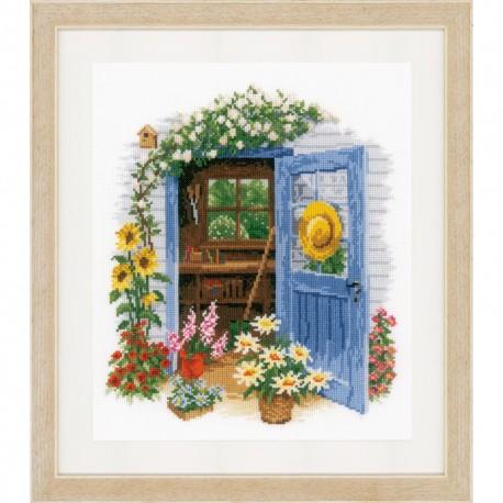 Vervaco 0169585  Ma maison de jardin  Broderie  Point de croix compté