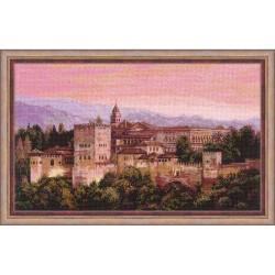 RIOLIS 1459  Alhambra  Broderie  Point de croix compté  Aida